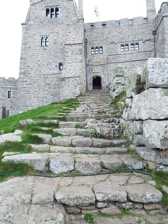 Rocky Path And Steps To The Front Door Picture Of St Michaels