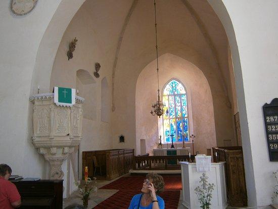 Puhalepa, Estonia: Kyrkointeriör