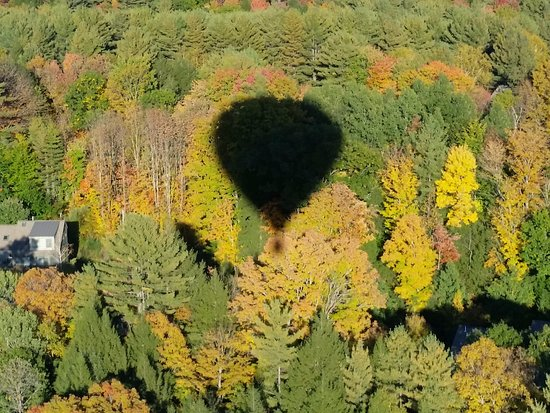 Balloons Over New England - Private Flights: Fall in Vermont.