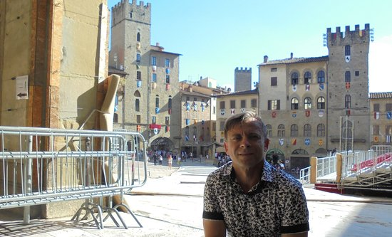 Piazza Grande: Предпазничная Пьяцца Гранде