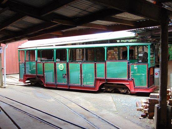 Coromandel, Νέα Ζηλανδία: one of the trains