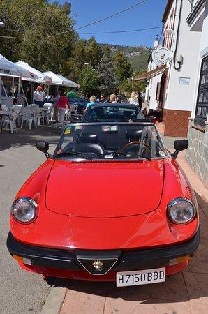 El Burgo, España: Great place to park