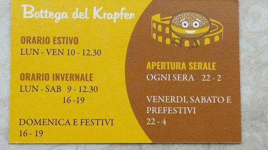 20161015085629largejpg Picture Of Bottega Del Krapfen Verona