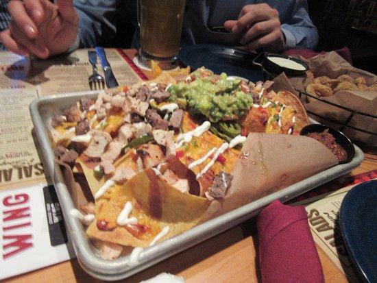 Wheeling, IL: voorgerecht nacho's