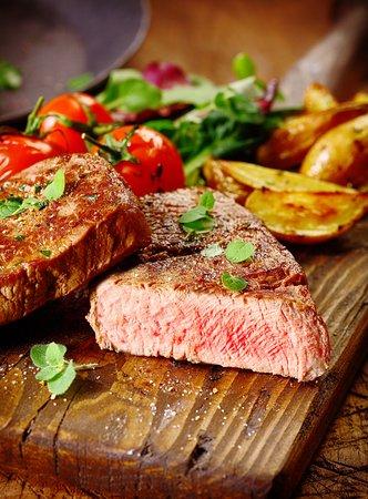 Alcester, UK: Perfect Steak