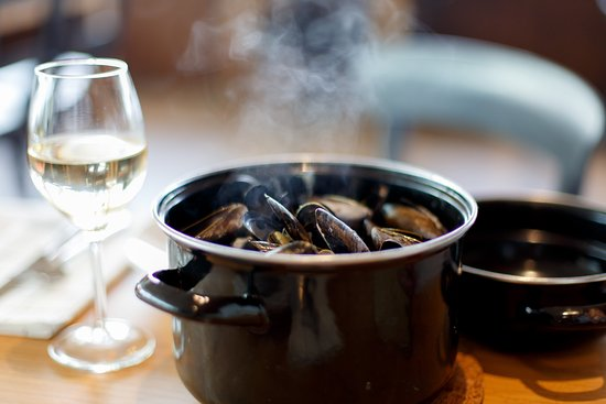 Alcester, UK: Scottish Mussels