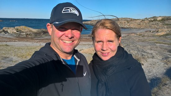 Stromstad, Suécia: We took a walk around North Koster