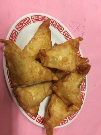 Buzzards Bay, MA: Best crab Rangoon in the world