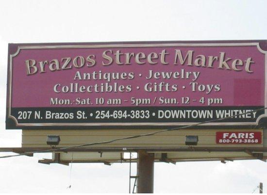 Brazos Street Market