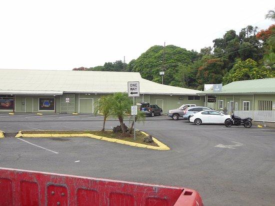 Captain Cook, Hawái: Parking is plenti