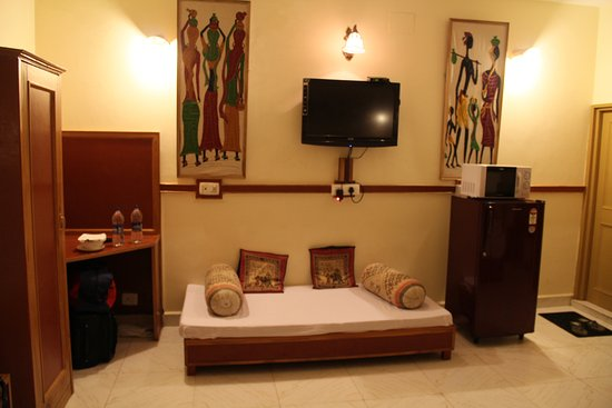 Nandini Residency: Family Room Sofa/Bed