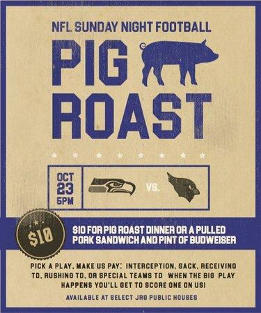 Κοκιτλάμ, Καναδάς: The 3rd Annual Pig Roast!