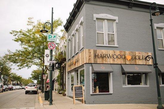 Harwood Gold Cafe, Charlevoix - Restaurant Bewertungen ...