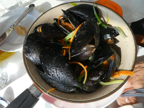 Rungsted, Denmark: Mussels