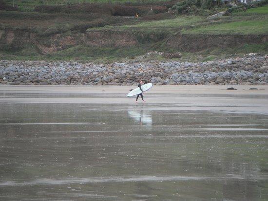 Surfer at Inch Beach