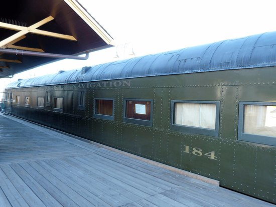 Edward Peterman Museum of Railroad History: OWR&N 184 - a 83-foot observation car vintage passenger car