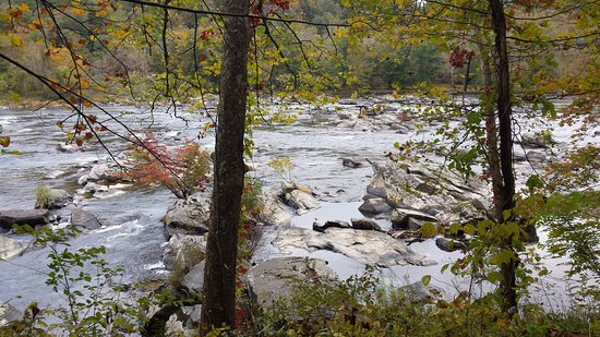 Max Meadows, VA: Rapids on the New River