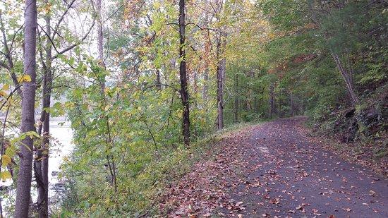 Max Meadows, Βιρτζίνια: Lookback on trail