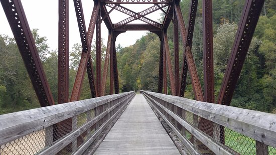 Max Meadows, VA: Bridge at Fries Junction