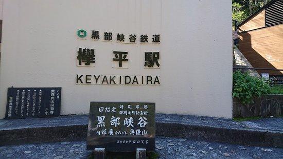 Kurobe, Japan: 黒部峡谷鉄道欅平駅