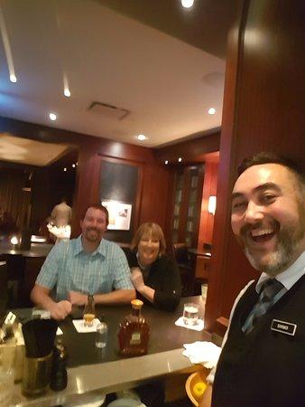 "Hy's Steakhouse & Cocktail Bar: Ryan ""Shimo"", fantastic, friendly bartender"