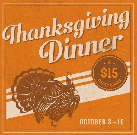 Surrey, Kanada: Thanksgiving Dinner!