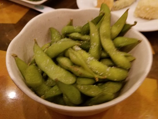 Great Neck, NY: Edaname...just peel and eat, so healthy soy beans for you