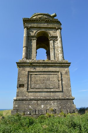 Castlerock, UK: Mausoleum for the Earl Bishop's brother