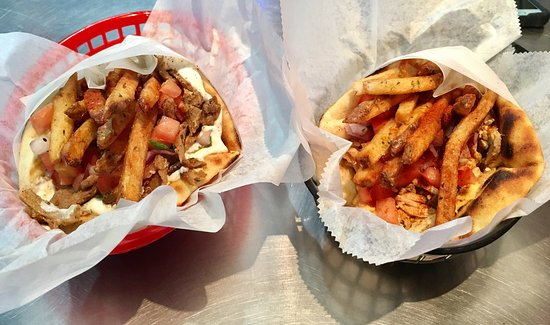 The Gyro Spot: Absolutely amazing! It took me right back to the streets of Athens the second I bit into a pork