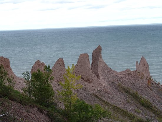 Fair Haven, estado de Nueva York: Chimney Bluffs