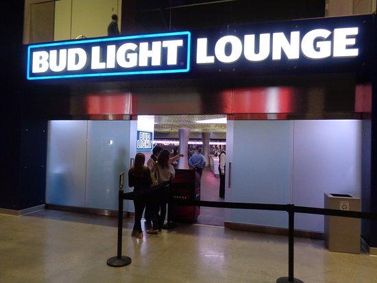 Bud Light Lounge Picture of T Mobile Arena Las Vegas TripAdvisor