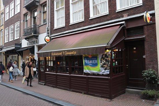 Restaurant het Zwaantje in Amsterdam , Picture of Restaurant