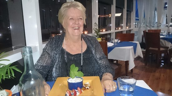 Springwood, Αυστραλία: Me enjoying the birthday song! and my creme brulee