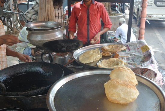 rajasthan incredible tours roadside food poori kachori