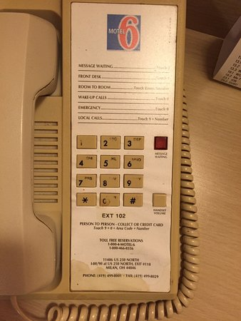 Phone, all the info you need to know! Motel 6 Sandusky-Milan, Ohio