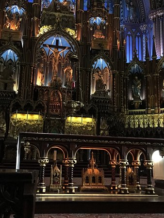 Montreal, Canada: Very beautiful and enigmatic place. You should come and see this church. Lots of history engrave