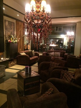 Hotel Piz St. Moritz: Lobby
