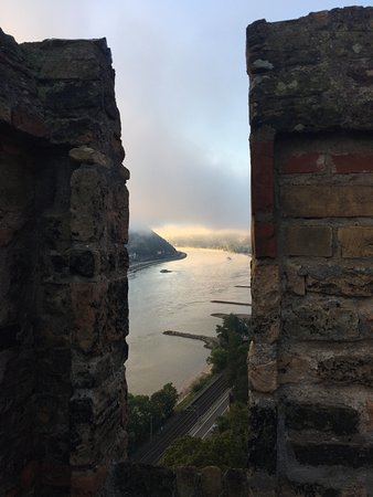 Trechtingshausen, Германия: The Rhine River