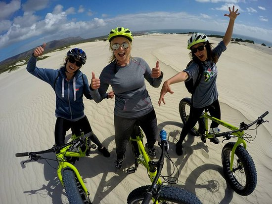 Gansbaai, Sydafrika: Great times on the dunes
