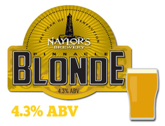 Lothersdale, UK: Naylors Blonde, from our local brewery (only 5 miles away)
