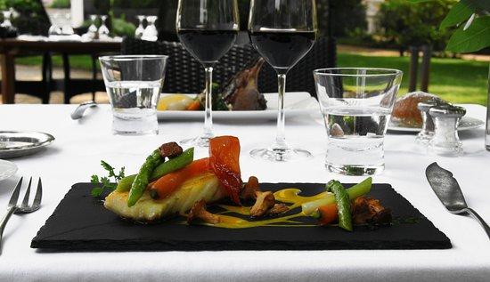 Auberge des Pins : Le restaurant