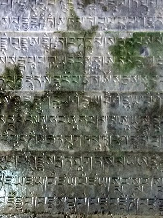 Zunhua, China: Manchurian inscriptions inside the burial hall