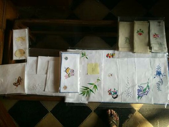 Cluny Embroidery Centre: ...and more