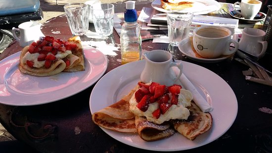 Moruya, Avustralya: You will love the pancakes - generous serving and freshly made