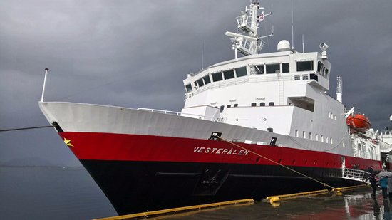 Stokmarknes, Norge: MS VESTERALEN