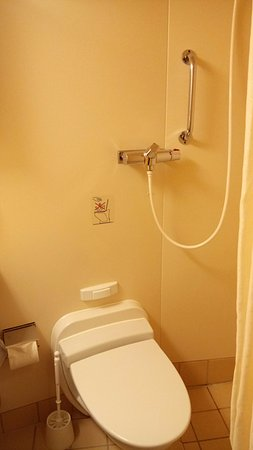 Stokmarknes, Norge: Private Bathroom with Shower