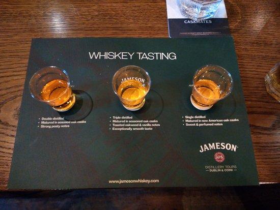Midleton, Irlanda: Cata de whiskies