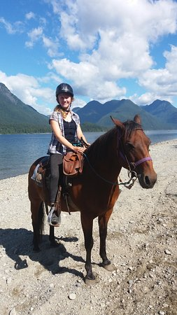 Pitt Meadows, Canadá: Half-Day ride to the lake
