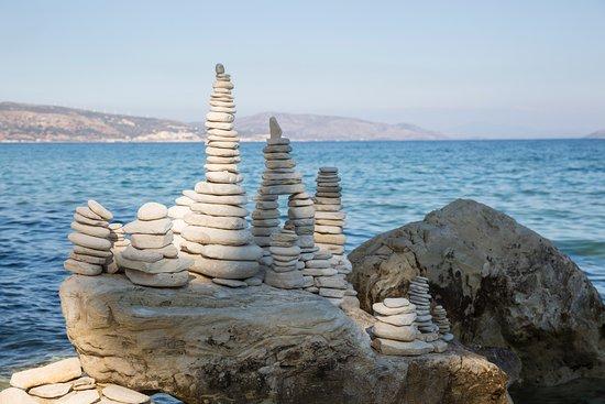 Иреон, Греция: Tolle Steinaufbauten