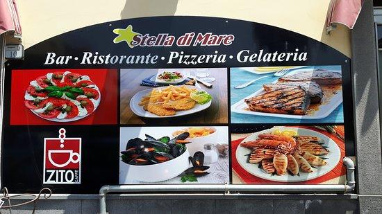 Riposto, İtalya: Menù fisso di pesce